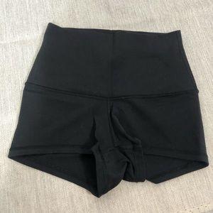Lululemon Black spandex shorts size xs